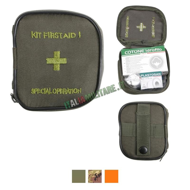 Tasca Medica Kit Primo Soccorso Tipo 1