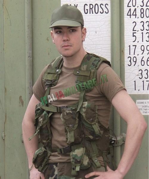Gilet Tattico Militare Originale Americano U.S. Load Bearing