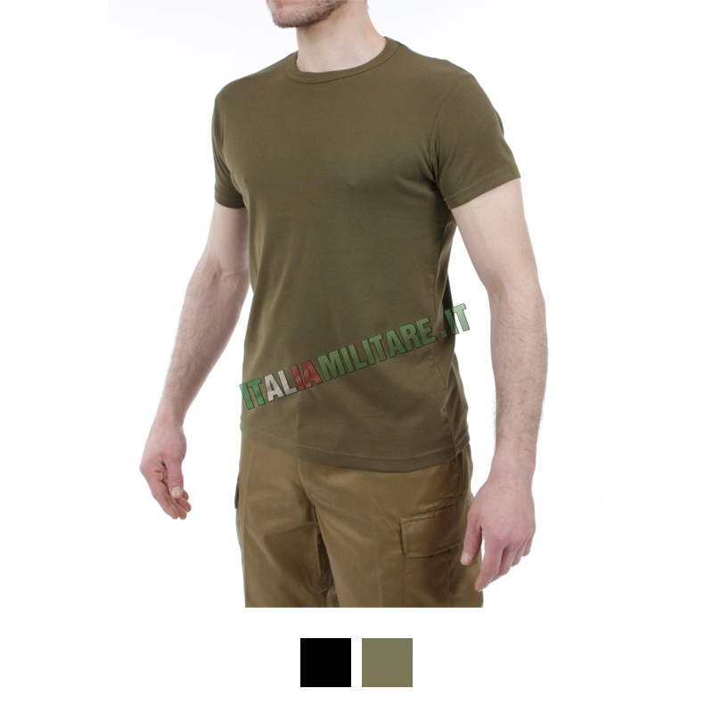 T-Shirt Aderente Elasticizzata