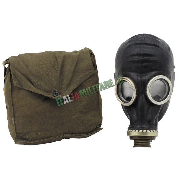 Maschera Antigas Militare Russa GP5 Nera