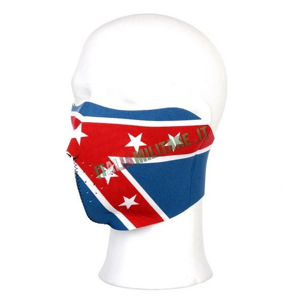 Maschera in Neoprene Bandiera Sudista