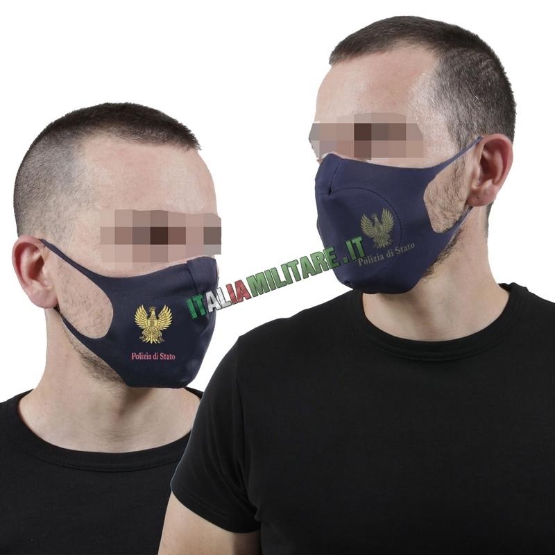 Mascherina Filtrante Lavabile Polizia di Stato