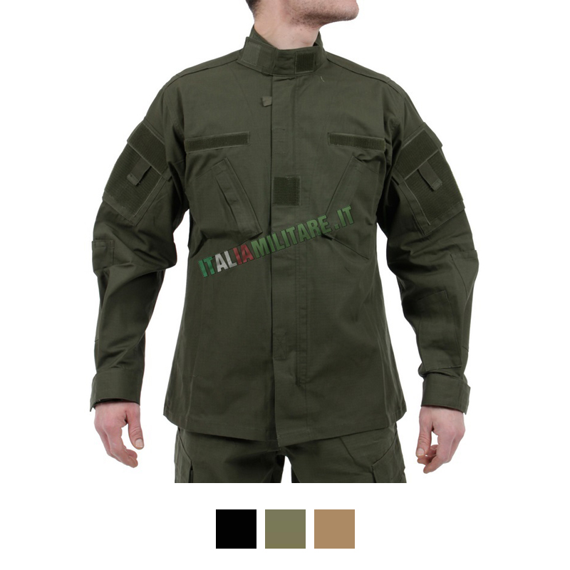 Giacca Militare 100% Cotone RipStop MilTec