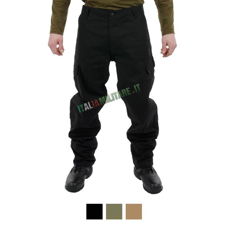 Pantaloni Militari 100% Cotone RipStop MilTec