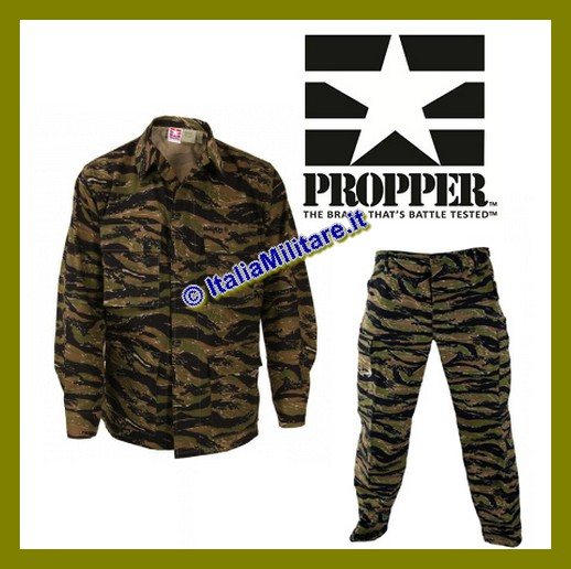 Propper Uniforme Mimetica BDU Tiger Stripes