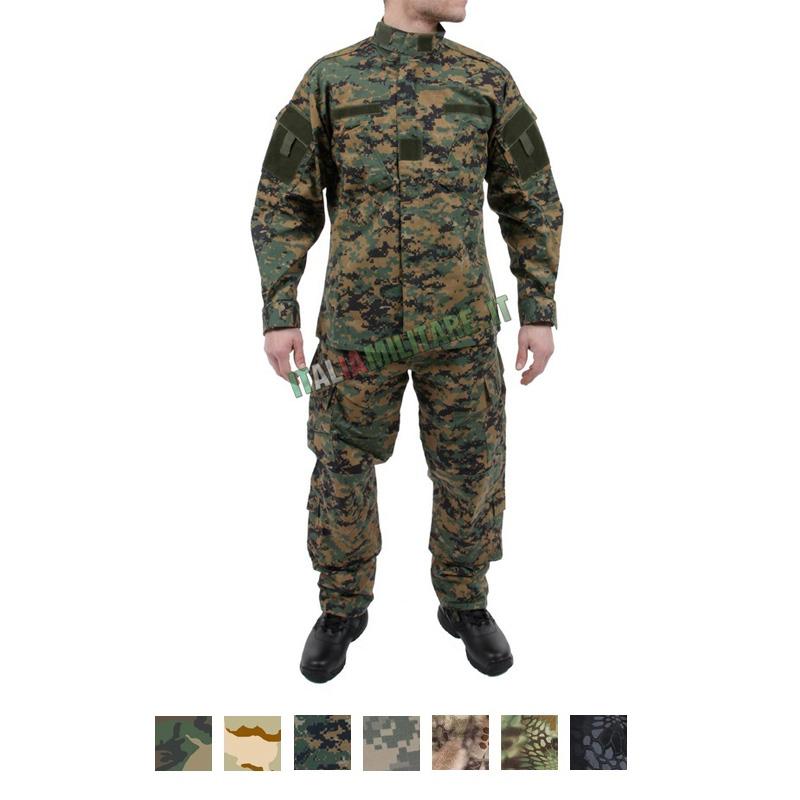 Mimetica Completa Militare Rip Stop MilTec Mimetica