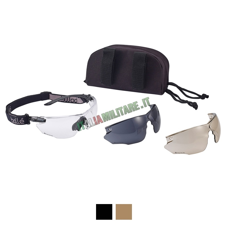 Occhiali Bollé Combat Kit Militari