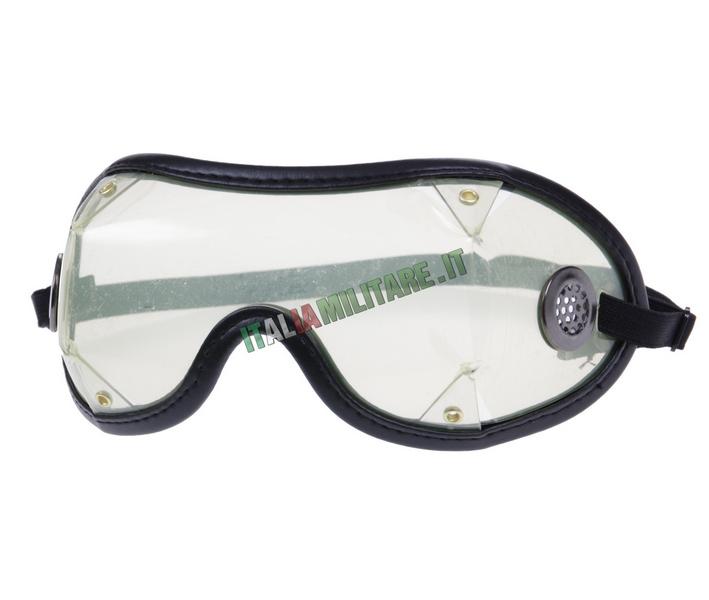 Occhiali da Lancio in PVC per Paracadutismo