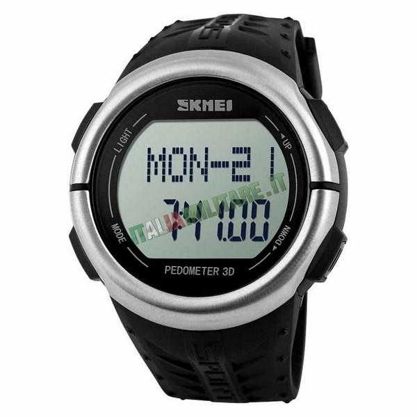 Orologio con Pedometro e Cardiofrequenzimetro