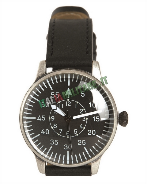 Orologio da Pilota Militare Vintage Nero