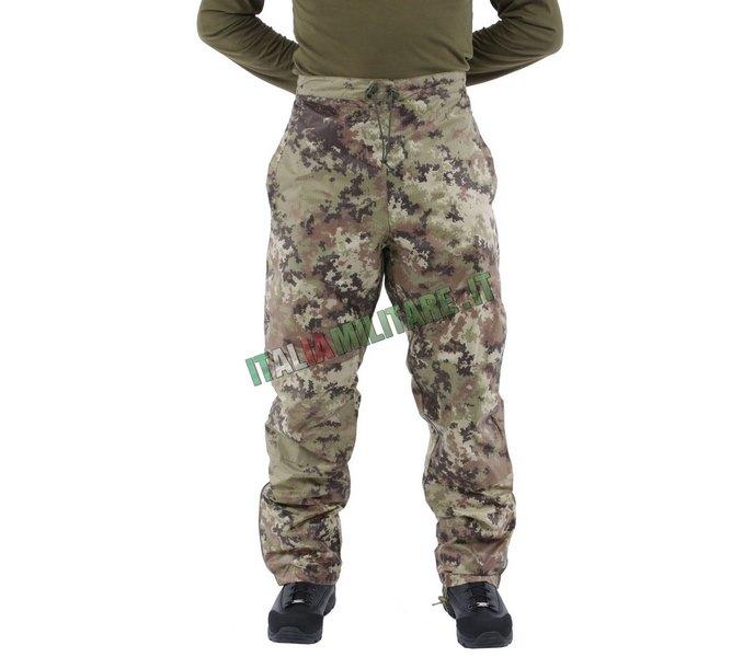 Pantaloni a Vento Impermeabili e Tascabili Vegetati
