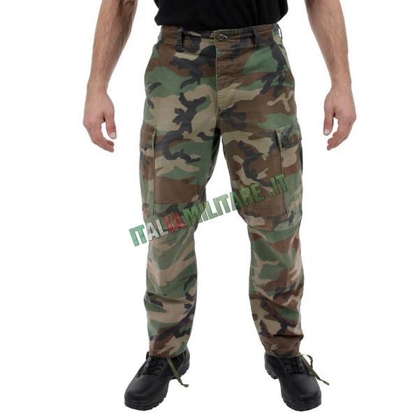 Pantaloni Militari Americani Originali Woodland