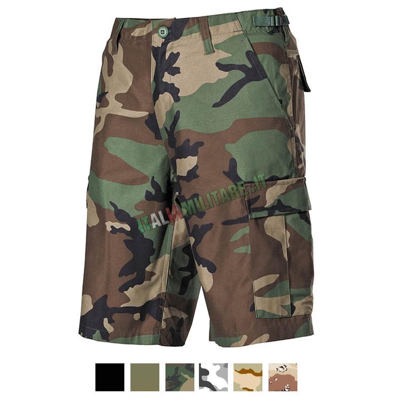 Pantaloni Bermuda Militari Corti BDU