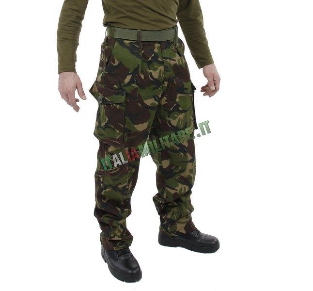 Pantaloni Inglesi CS95 Mimetica DPM Originali Nuovi