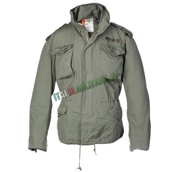 Giacca Militare Americana M 65 SB-52 Field Jacket Verde