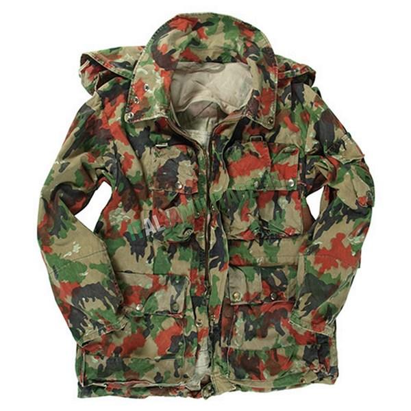 Parka Militare Esercito Svizzero M70