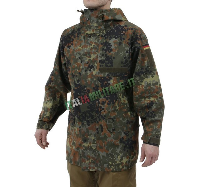 Parka Goretex Militare Tedesco Flecktarn Originale