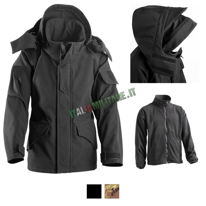 Parka in Softshell Openland