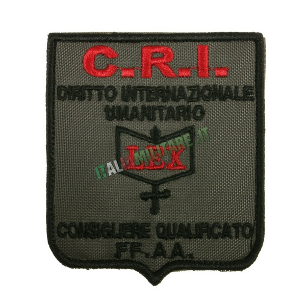 Patch C.R.I. Consigliere Qualificato FF.AA.