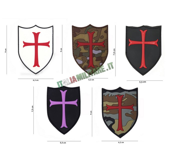 Patch Crusader Crociati in Pvc