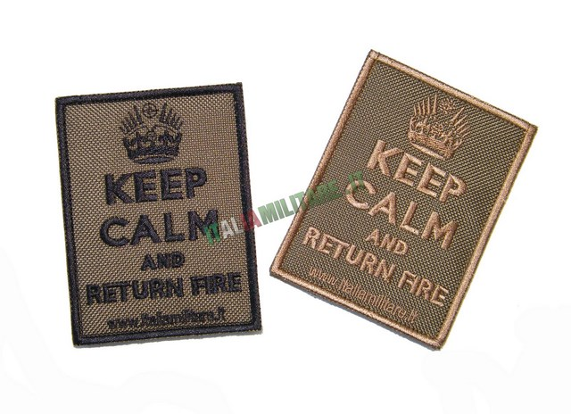 Patch KEEP CALM and Return Fire