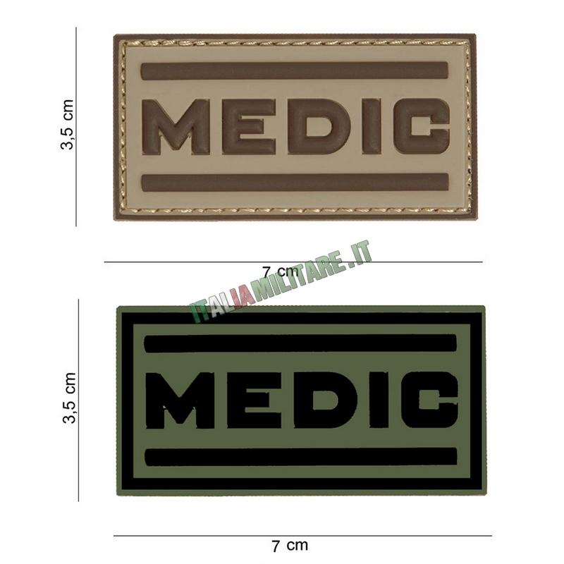 Patch MEDIC in Pvc