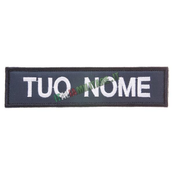 Patch Personalizzata Nome - Blu