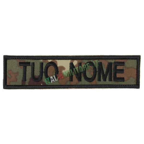 Patch Personalizzata Nome - Vegetato
