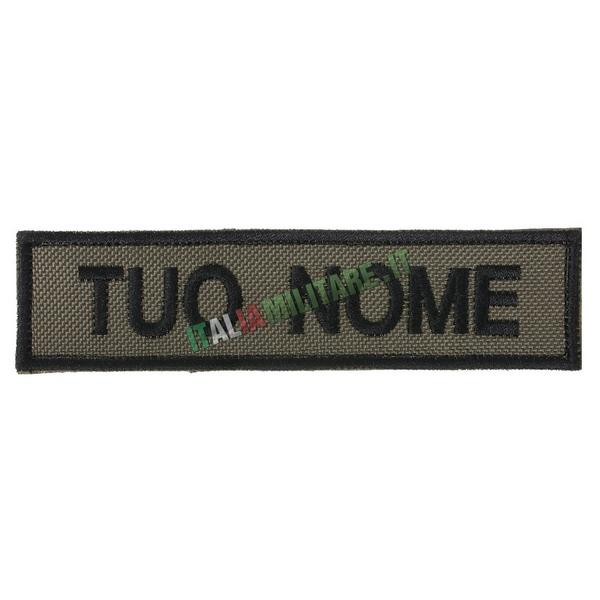 Patch Personalizzata Nome - Verde