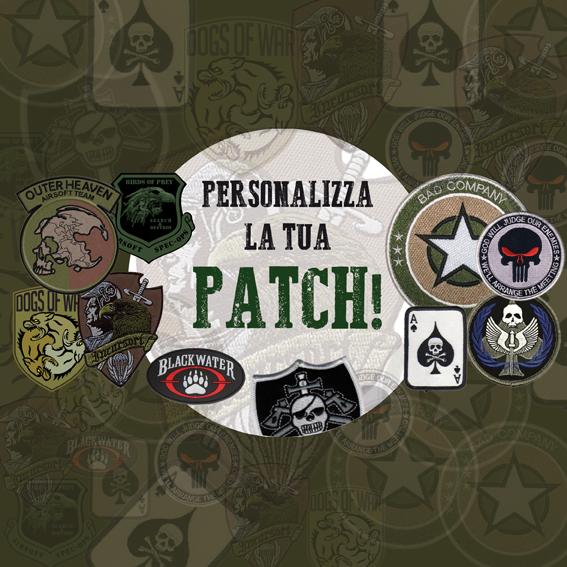 Personalizza la Tua Patch in Tessuto Ricamato