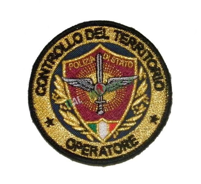 Patch Controllo del Territorio Poliza di Stato