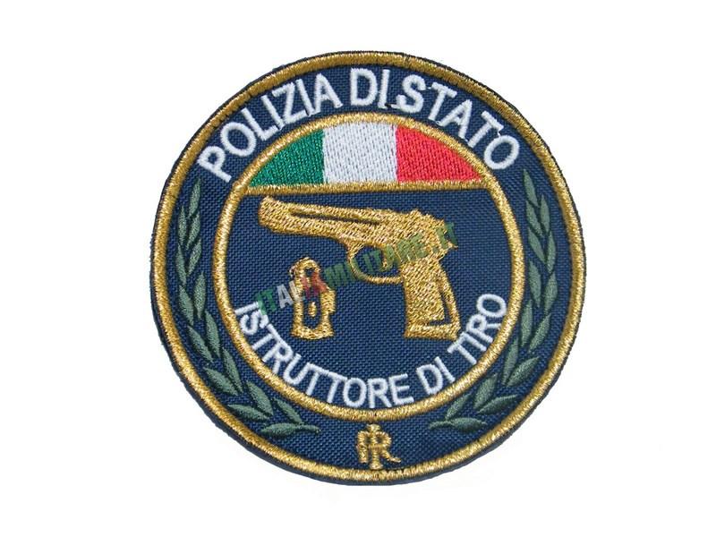 Patch Istruttore di Tiro Polizia di Stato