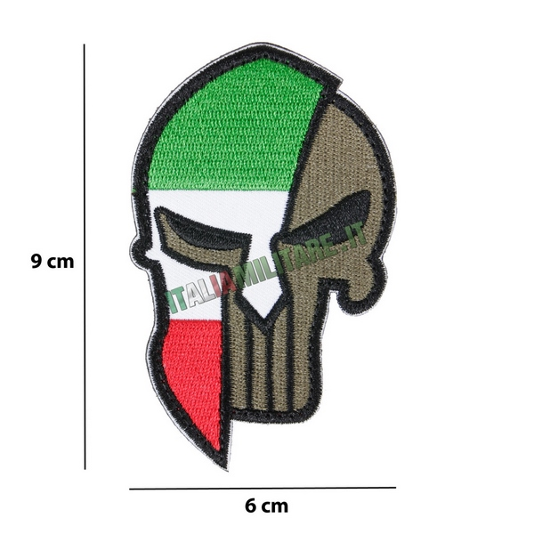 Patch Punisher Italia con Elmo
