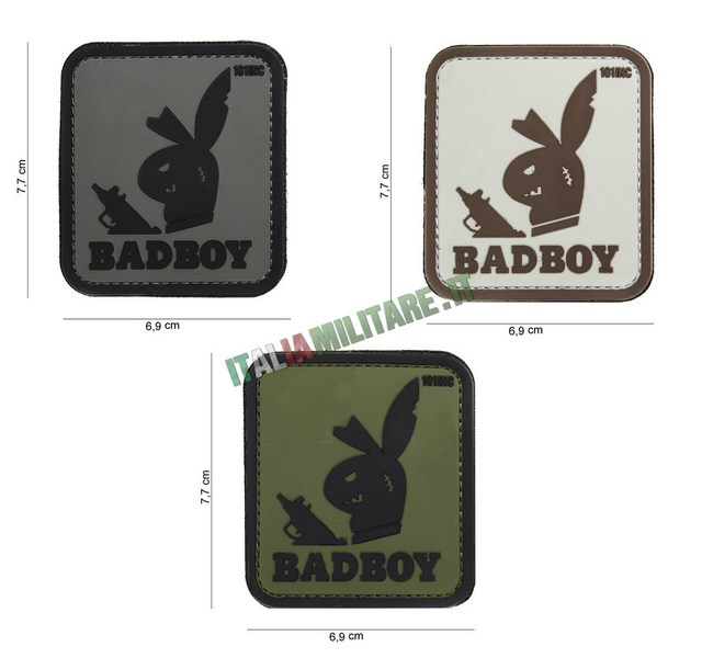 Patch Bad Boy - Play Boy in Pvc
