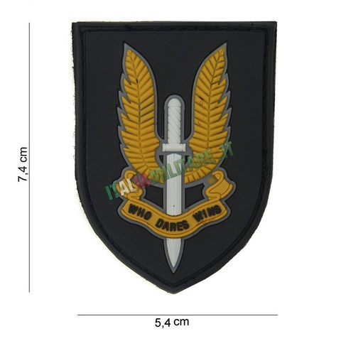 Patch Militare SAS Inglesi in Pvc
