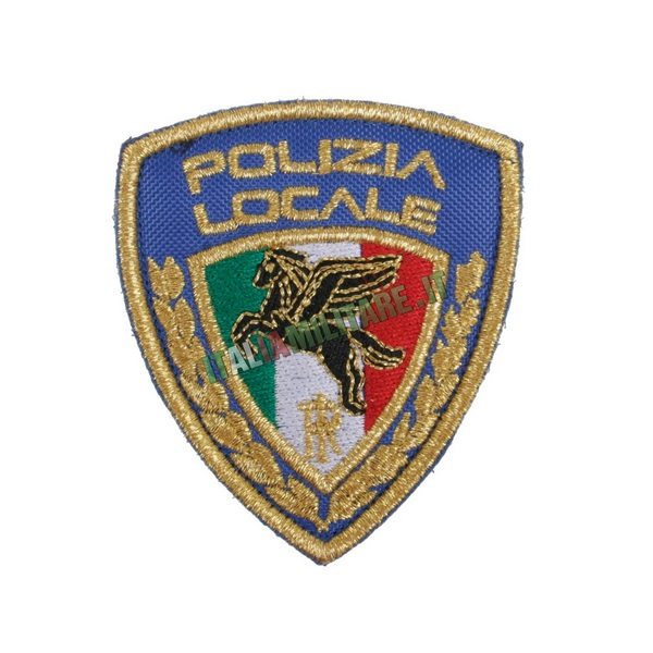 Patch Scudetto Polizia Locale
