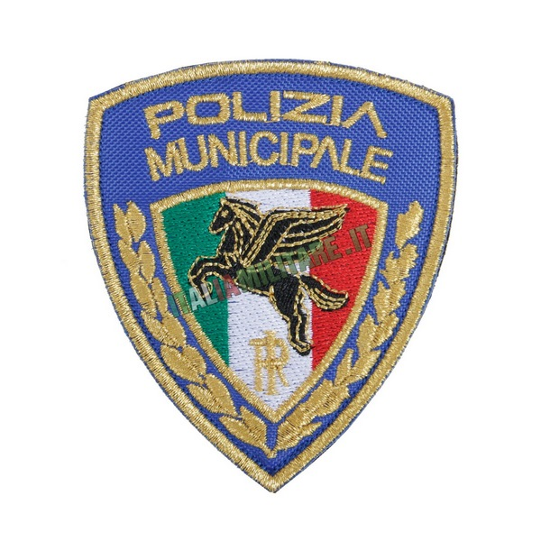 Patch Scudetto Polizia Municipale
