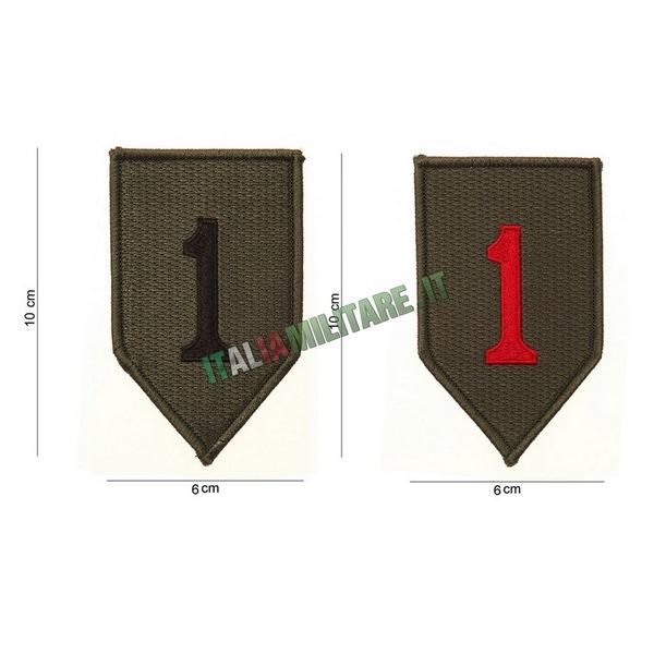 Patch 1 Infantry Prima Divisione Fanteria Americana