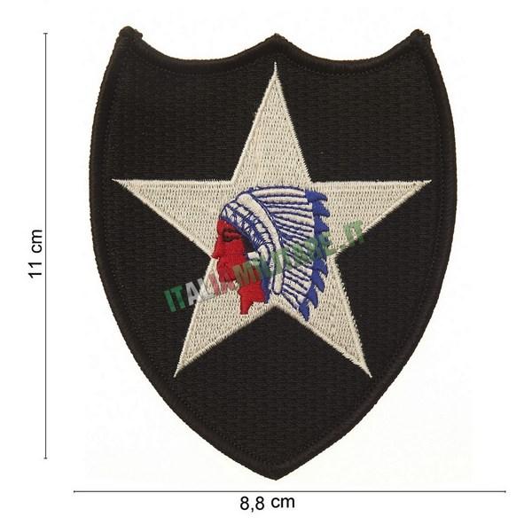 Patch 2 Infantry Seconda Divisione Fanteria Americana