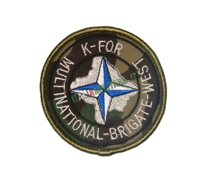 Patch Missione KFOR Kosovo Multinational Brigate West