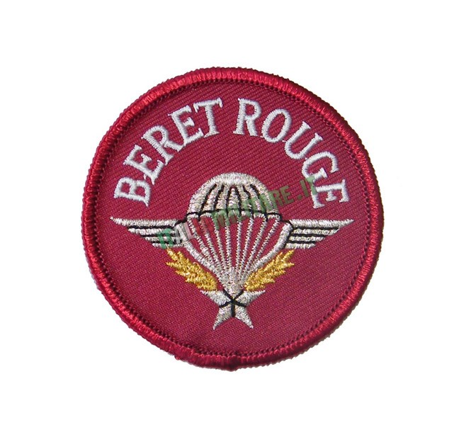 Patch Beret Rouge Militare Francese
