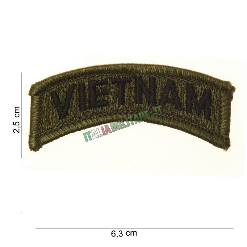 Patch VIETNAM Americana Militare Verde