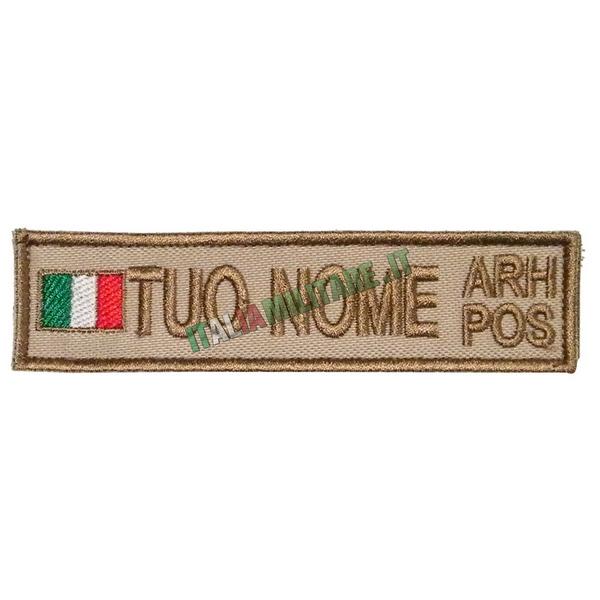 Patch Personalizzata Bandiera Nome Gruppo - Tan Desert
