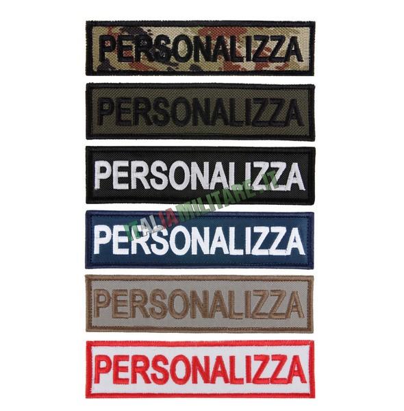 Patch Personalizzata Militare Standard