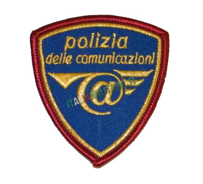 Patch Scudetto Polizia delle Comunicazioni