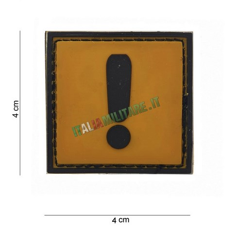 Patch di Segnalazione in Pvc Mod. Caution