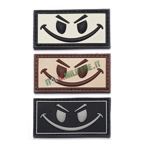 Patch Evil Smiley in Pvc