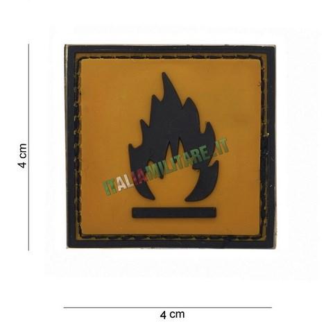 Patch di Segnalazione in Pvc Mod. Flammable