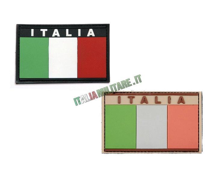 Patch Bandiera Italia in Pvc