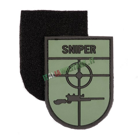Patch Sniper Cecchino in Pvc